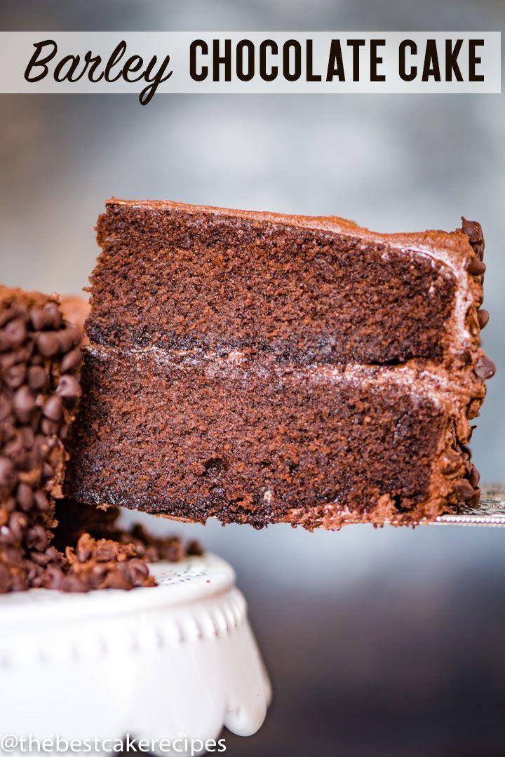 Barley Flour Chocolate Cake Hot Chocolate Recipes Homemade Cakes Amazing Chocolate Cake Recipe