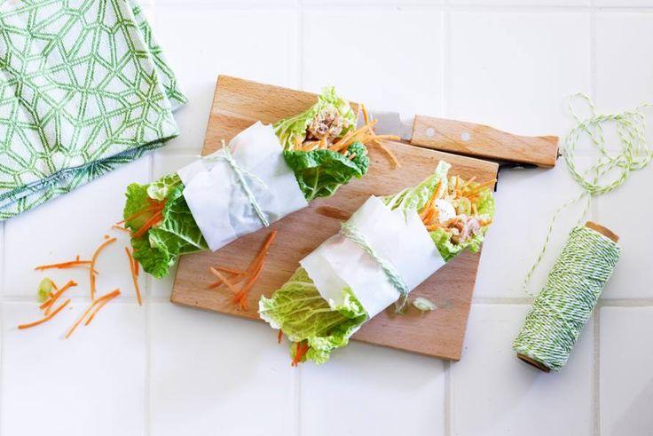 Makkelijk te maken, lekker licht én ze staan prachtig op tafel: lunchpakketjes om mee te pronken. - Recept - Allerhande