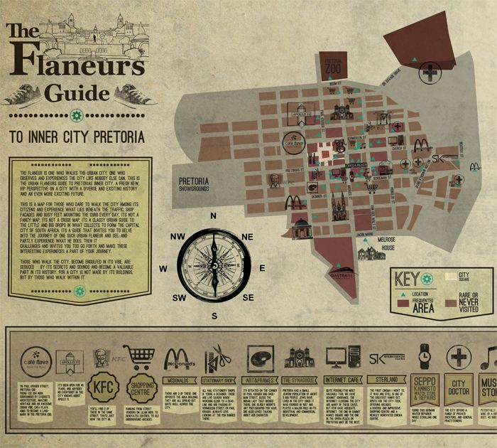 The Flaneur's Guide to Inner City Pretoria
