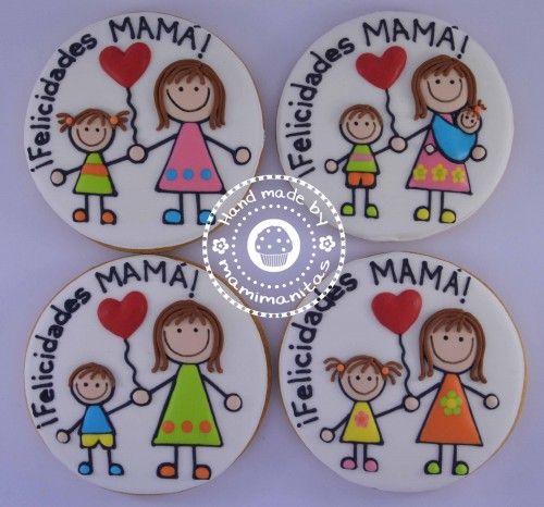 Galletas para el dia de la madre