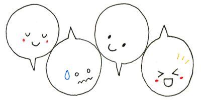 4. 表情があれば何でもかわいい! – ボールペンで描く!プチかわいいイラスト練習帳