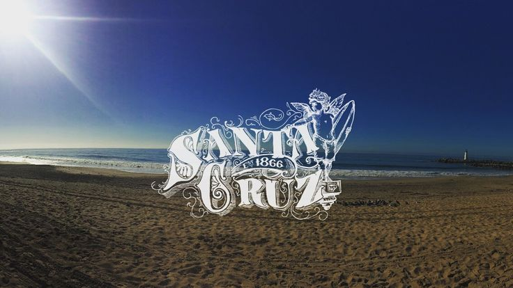 Santa Cruz Victorian Illustration Lettering Design by Julie Rawls - Our featured artist on LocalSC today