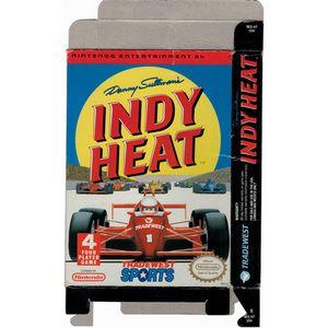 Danny Sullivan's Indy Heat - Empty NES Box