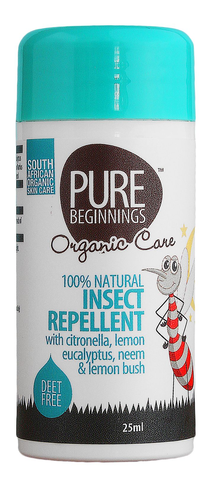 25ml  100% Natural Insect Repellent     * 100% Natural  * DEET FREE    * Stick for easy application to the face