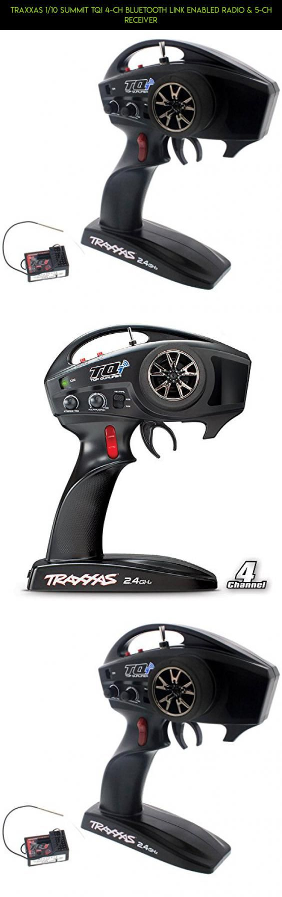 Traxxas 1/10 Summit TQi 4-Ch BLUETOOTH LINK ENABLED RADIO & 5-Ch RECEIVER #tech #camera #fpv #drone #receiver #traxxas #products #gadgets #kit #technology #shopping #plans #parts #racing