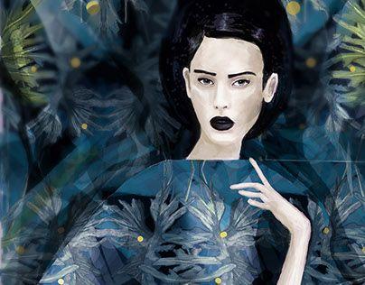 "Check out new work on my @Behance portfolio: ""Blue Botanica"" http://be.net/gallery/33928608/Blue-Botanica"