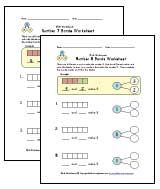 1st Grade Number Bond Worksheets | Kids Learning Station