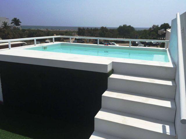 M s de 25 ideas incre bles sobre piscinas poliester en - Mini piscinas prefabricadas ...