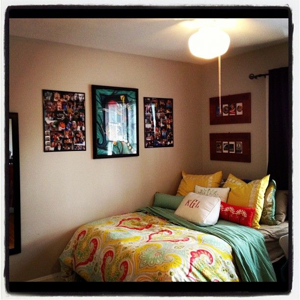 Decorating Ideas > Love This  Dorm Sweet Dorm  Pinterest  Spreads, Colors  ~ 152739_Seventeen Magazine Dorm Room Ideas