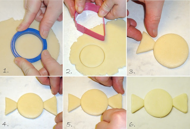 tutorials for how to make cool cookies with common shapes