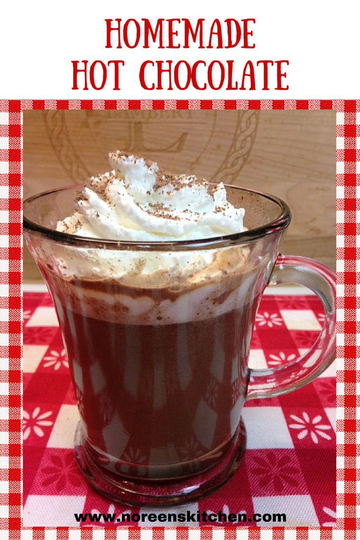 Hot Chocolate Recipe With Sweetened Condensed Milk And Chocolate Chips