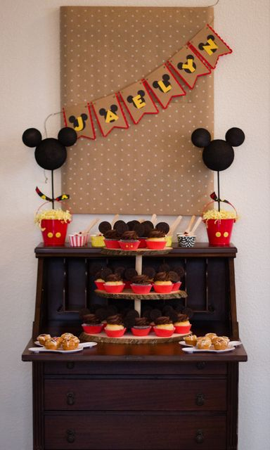 Fantastic Mickey Mouse birthday party!  See more party ideas at CatchMyParty.com!