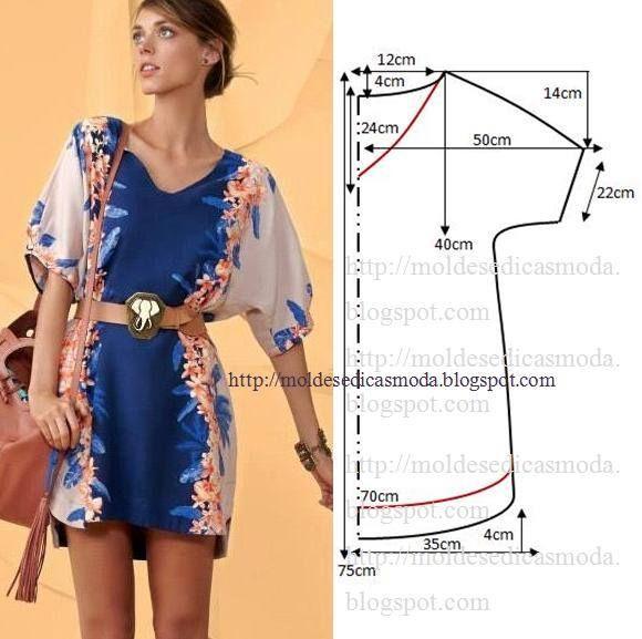 35 modelos y patrones de vestidos para dama10
