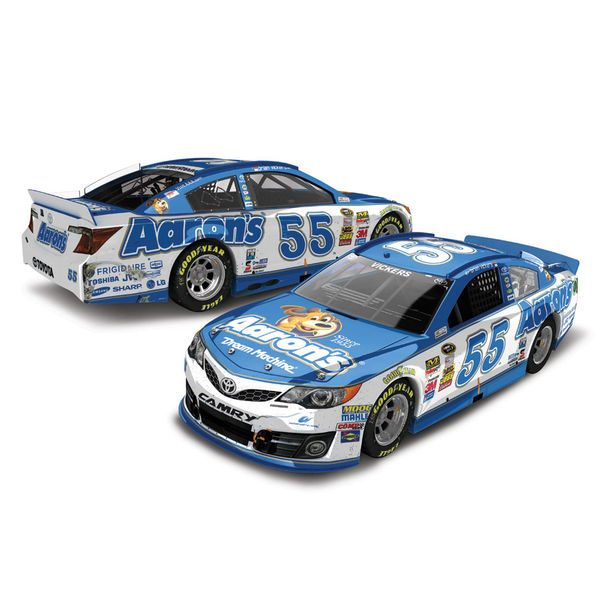 Action Racing Brian Vickers 2013 Camping World RV Sales 301 Race Winner 1:24 Scale Die-Cast Car - $64.99