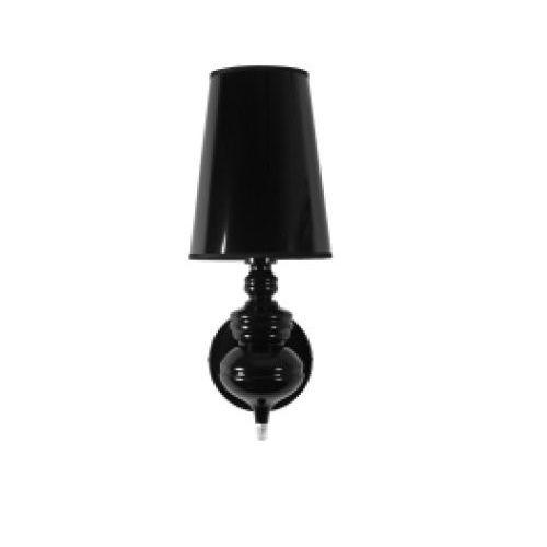 Lampa ścienna Amber Wall, czarna