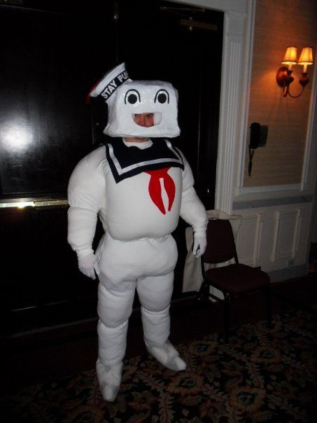Stay Puff Marshmallow Man Costume #halloween #ghostbusters