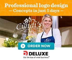 New logo design sales from Deluxe Business Services!