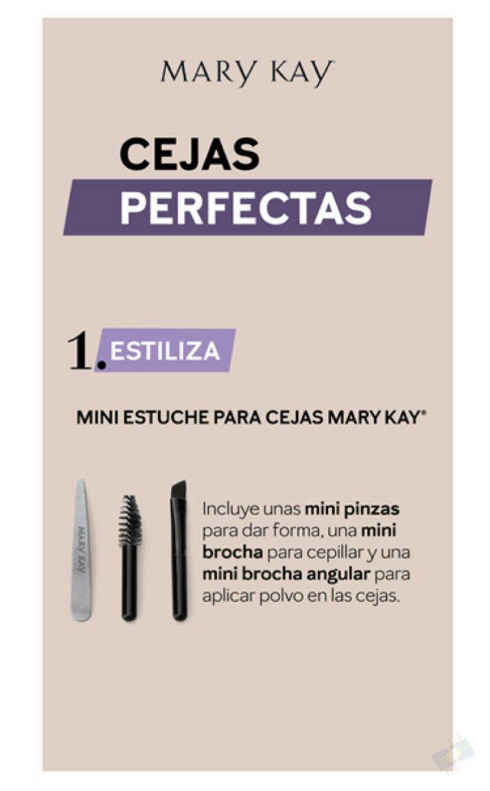 Pin De Namikoraymondi En Mary Kay Maquillaje Con Mary Kay Mary Kay Cejas Perfectas