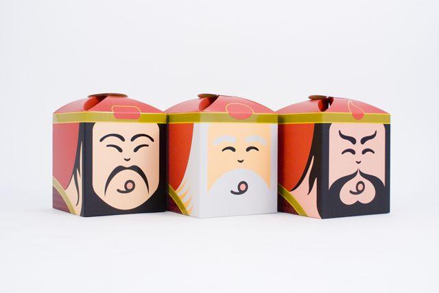 Ikosu Money Gods, packaging design // TROONION DESIGN, Taiwan