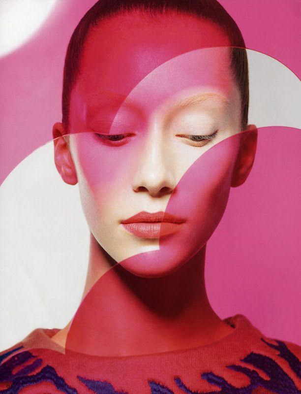 Alana Zimmer by Sophie Delaporte for #Vogue #Japan October 2012: Area Zimmer, Pop Art, Beauty Photography, October 2012, Fashion Models, Japan October, Bold Color, Fashion Editorial, Vogue Japan
