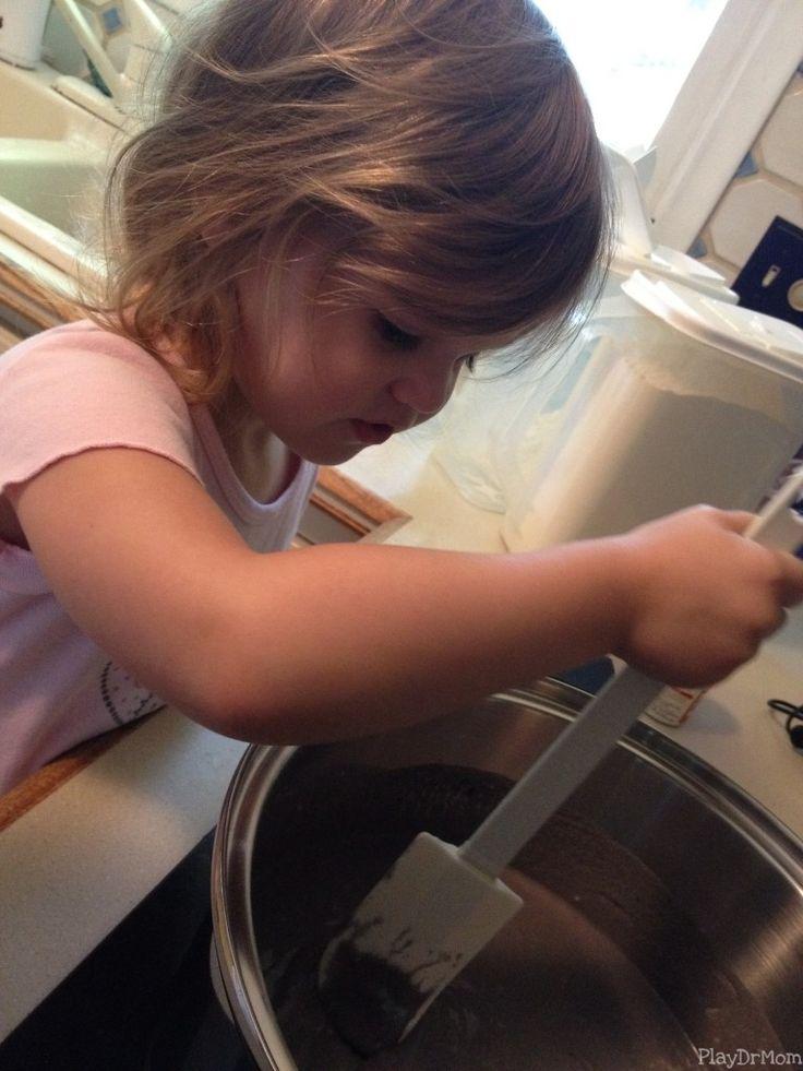 Honor stirring grape kool-aid playdough