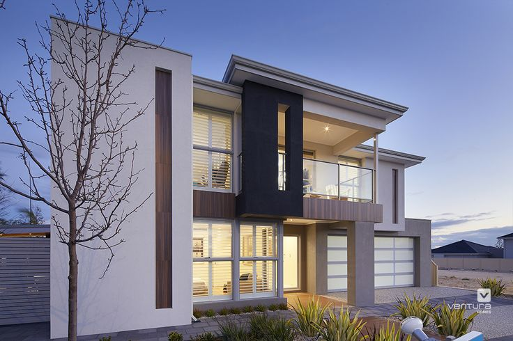Double Storey Elevations : The meridian double storey display home elevation