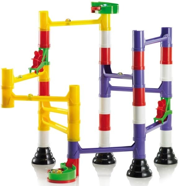 Marble Roller Coaster Construction Set - Quercetti 6546