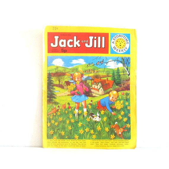 Vintage Jack and Jill 1970s UK Childrens  Magazine