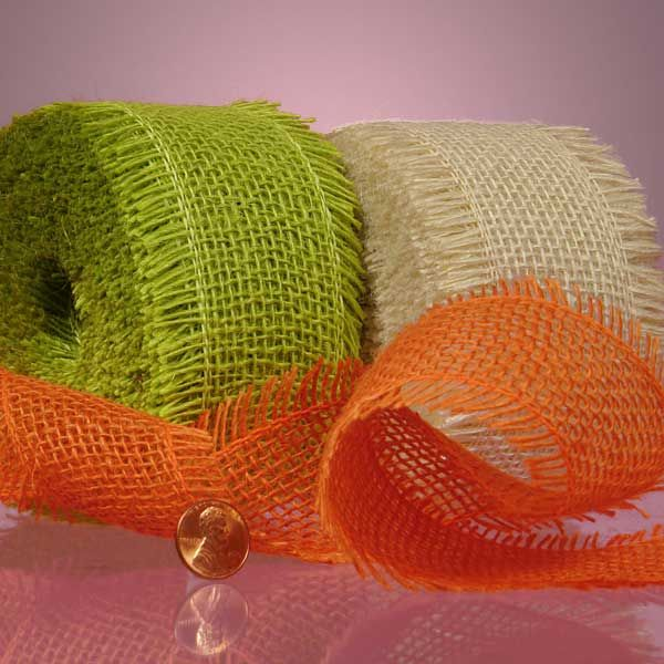 Great Price on Jute Ribbon for Bouquets and Decorations!