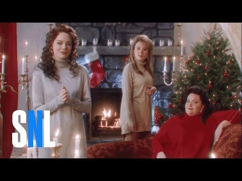 The Christmas Candle (Emma Stone) - SNL - YouTube Christmas Baby
