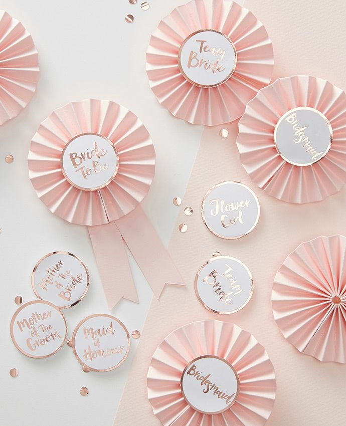 These hen do badges would be perfect for a classy hen party. Give one to each member of the hen party!