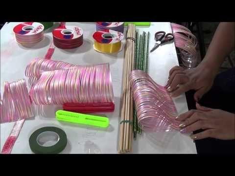 Como hacer una rosa de tela - Loveluzlop - YouTube