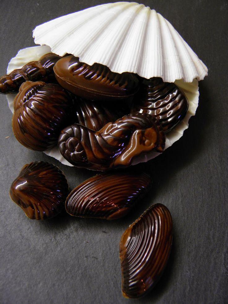 Csokoládé Reformer: Tejcsokoládés tenger gyümölcsei bonbon