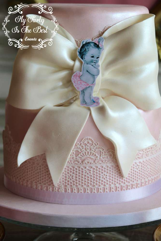 Vintage / Retro Baby Shower Party Ideas | Photo 1 of 19