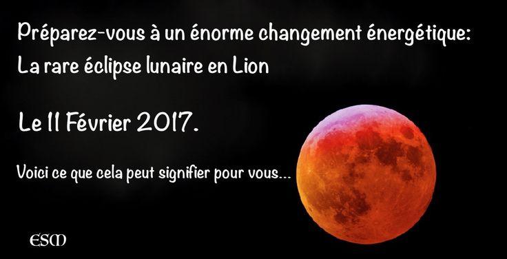 Rare éclipse lunaire : Vendredi prochain, ce vendredi donc, dans la nuit du 10 au 11 Février, il y aura une éclipse lunaire particulière qui porte le nom de
