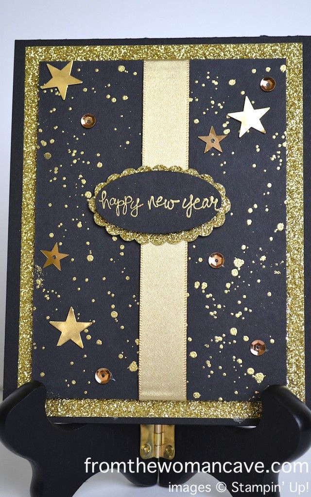 Happy New Year!  Stampin' Up!  Good Greetings and Gorgeous Grunge