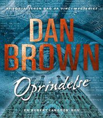 """Oprindelse af Dan Brown er femte bind i serien om den populære professor Robert Langdon. Det er en hæsblæsende jagt gennem symboler, kunst, religion og skjulte koder.   Oprindelse af Dan Brown er efterfølgeren til bestsellerbøgerne og ikke mindst filmene Inferno, Det forsvundne tegn, Engle og dæmoner og Da Vinci mysteriet. I filmene spiller Tom Hanks hovedrollen som professor Robert Langdom.   Klik på fotoet og læs mere om bestselleren """"Oprindelse af Dan Brown""""."""