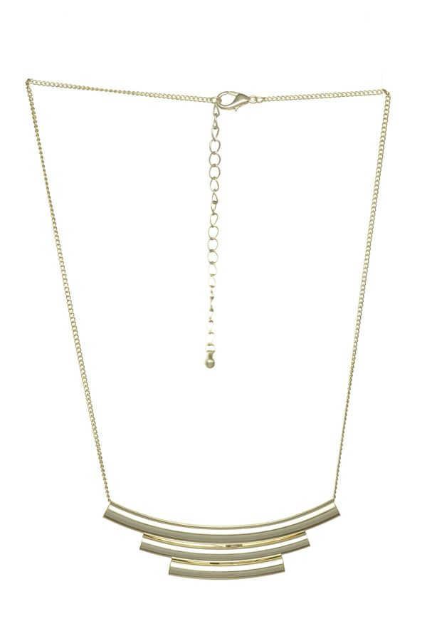 Harry and Zoe - Crescent Layered Pipe Necklace, $14.00 (http://www.harryandzoe.com/crescent-layered-pipe-necklace/)
