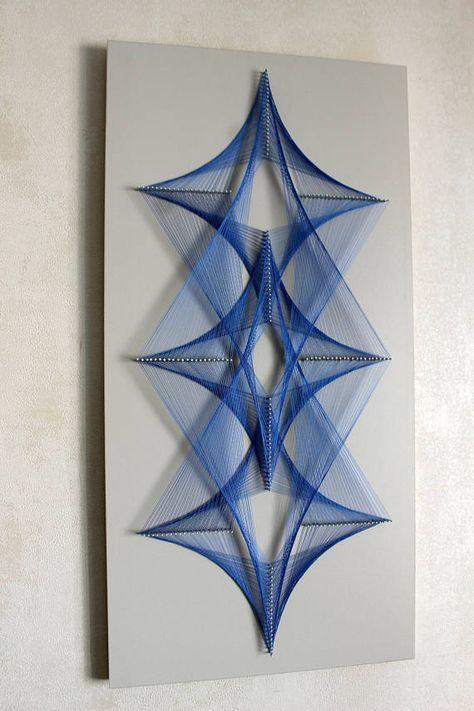 FLOW string art zen mandala wall hanging spiritual wall