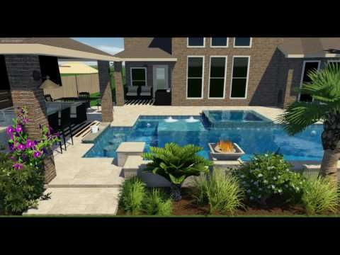 3D Pool Designs | Online Pool Designs | Free Swimming Pool Plans