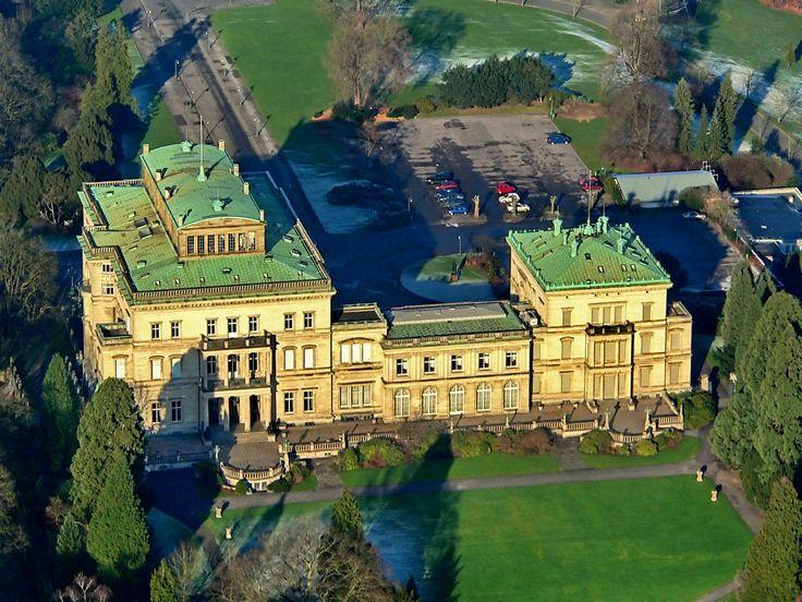 Villa Hügel, Essen (Ruhrgebiet Germany)                                                                                                                                                                                 Mehr