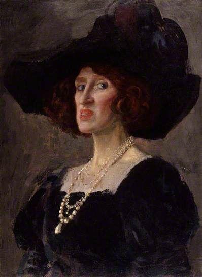 Augustus John (1878-1961) - Lady Ottoline Morrell, 1919