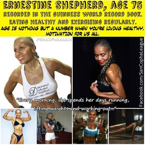 Ernestine Shepherd Workout Routine  