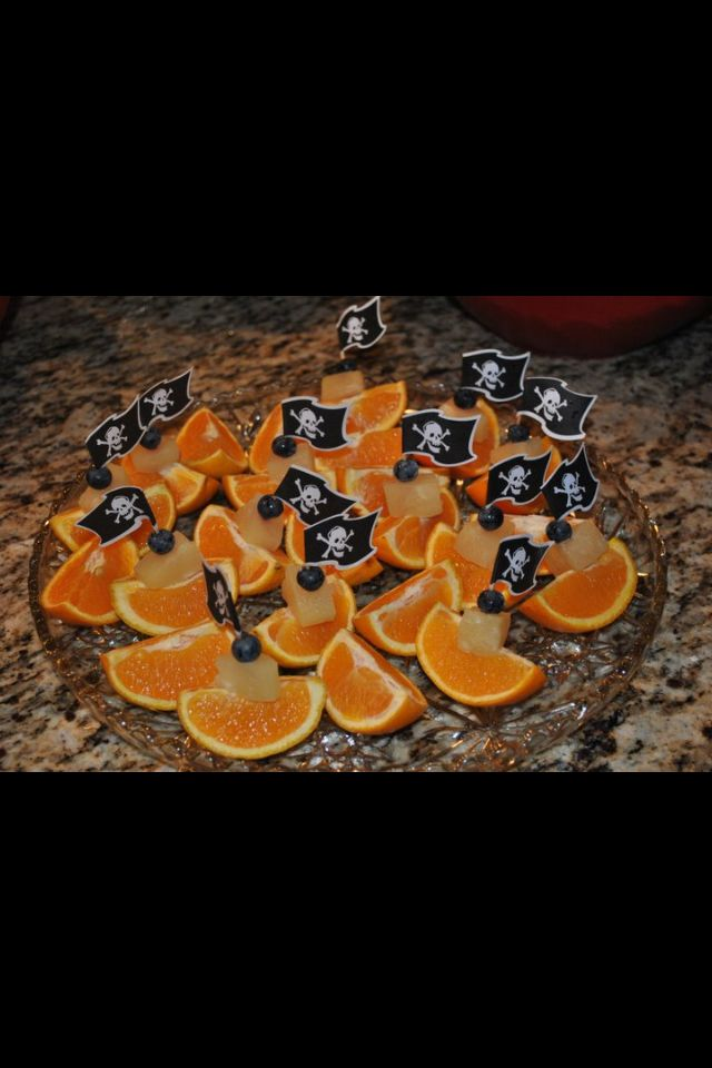 Pirate party food idea