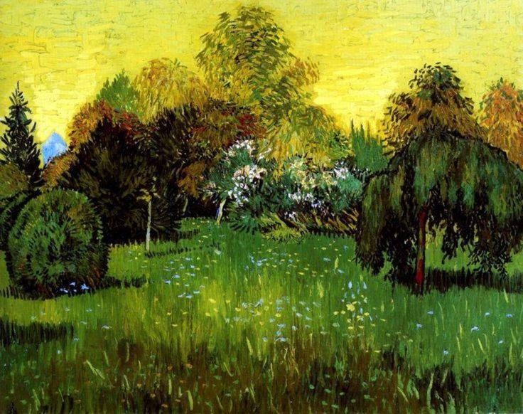 VINCENT VAN GOGH (1853-1890): THE POET'S GARDEN (1888)  A Vincent van Gogh-i ősz…