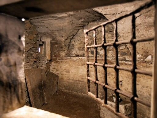 Image result for Roman prison