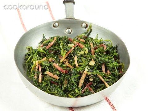 Cicoria al prosciutto: Ricette di Cookaround | Cookaround