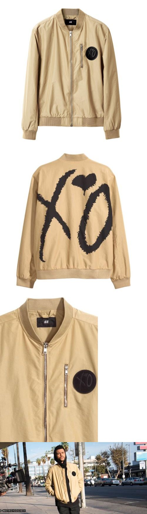 Outerwear 155195: The Weeknd Handm Bomber Jacket -> BUY IT NOW ONLY: $100 on eBay!