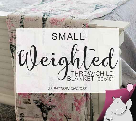 Get your Flat Hippo small throw/toddler weighted blanket for autism, sensory processing disorder (SPD), anxiety, Alzheimer's, PTSD, Parkinson's, etc https://www.etsy.com/listing/514779419/small-weighted-throw-blanket-you-pick