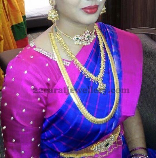 Diamond Jewelry Sets For Brides